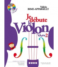 Bime-apparailly - Je Debute Le Violon Vol.2 + Cd