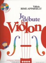 Bime-apparailly - Je Debute Le Violon + Cd