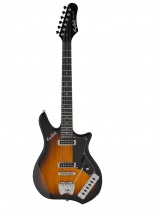 Hagstrom Imp-tbs Retro Series Tobacco Sunburst
