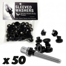 Sleeved Washers By Hendrix Dru Sleeved Washers - Rondelles Noires (x50)