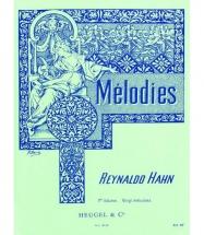 Hahn R. - 20 Melodies Vol.1 - Voix Moyenne Et Piano