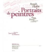 Hahn R. - Portraits De Peintres - Piano