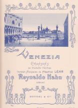 Hahn R. - Venezia - Chant/piano