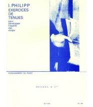 Philipp Isidor - Exercices De Tenues Op.50 - Piano