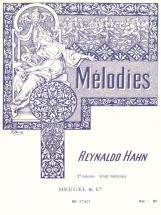 Hahn R. - 20 Melodies Vol.2 - Voix Moyenne Et Piano