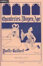 Guilbert - Chanteries Du Moyen-age Vol.1 - Chant/piano