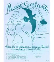 Kurt Weill - Marie Galante - Chant, Piano