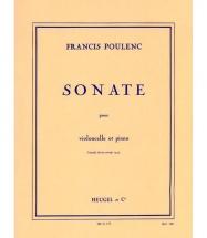 Poulenc F. - Sonate Pour Violoncelle Et Piano