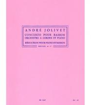 Jolivet A. - Concerto Pour Basson