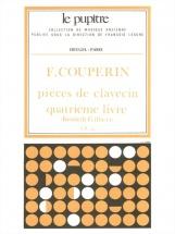 Couperin F. - Pieces De Clavecin - Livre 4