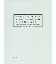 Dutilleux Henri - Tout Un Monde Lointain...