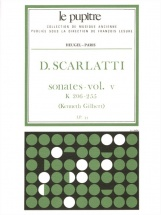 Scarlatti D. - Sonates Vol.5 (k.206 - K.255)