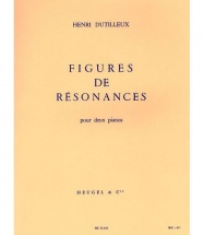 Dutilleux H. - Figures De Resonances -2 Pianos