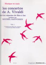 Vivaldi A. / Sanvoisin M. - Concertos Vol.1 - Flute A Bec Seule