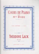 Lack Theodore - Cours De Piano De Mlle Didi - Etudes Volume 2 Piano