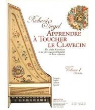 Siegel Richard - Apprendre A Toucher Le Clavecin Vol.1 + Cd