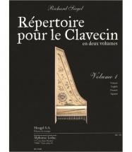 Siegel Richard - Repertoire Pour Le Clavecin Vol.1