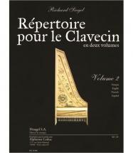 Siegel Richard - Repertoire Pour Le Clavecin Vol.2