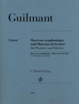 Guilmant Alexandre - Morceau Symphonique and Morceau De Lecture - Trombone and Piano