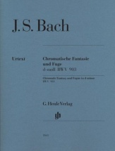 Bach J.s. - Chromatic Fantasy And Fugue D Minor Bwv 903 And 903a (sans Doigtes)