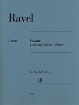 Ravel Maurice - Pavane Pour Une Infante Defunte - Piano