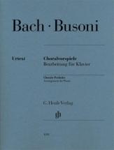 Bach J.s. - Busoni F. - Preludes De Chorals - Piano