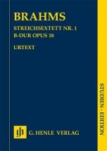 Brahms J. - Sextuor A Cordes N°1 Op.18 - Conducteur