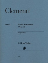 Clementi M. - Six Sonatinas Op.36 - Piano