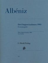 Albeniz I. - Trois Improvisations 1903 - Piano