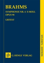 Brahms Johannes - Symphonie N°4 Op.98 - Score
