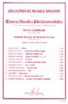 Lammers Henri - Oeuvres Vocales Et Instrumentales - Choeur