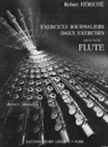 Heriche Robert - Exercices Journaliers - Flute