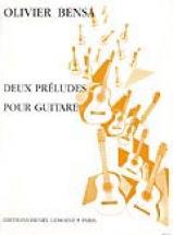 Bensa Olivier - Preludes (2) - Guitare