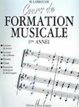 Labrousse Marguerite - Cours De Formation Musicale Vol.1