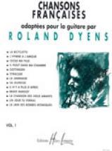 Dyens Roland - Chansons Françaises Vol.1 - Guitare