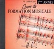 Labrousse Marguerite - Cours De Formation Musicale Vol.2 - Cd Seul