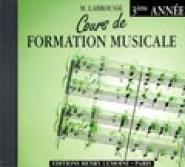 Labrousse Marguerite - Cours De Formation Musicale Vol.3 - Cd Seul