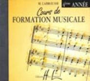 Labrousse Marguerite - Cours De Formation Musicale Vol.4 - Cd Seul