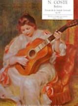 Coste N. - Boléro Op.30 - Guitare