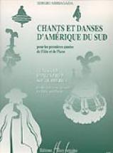 Arriagada Sergio - Chants Et Danses D'amérique Du Sud - Flute, Piano
