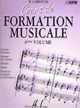Labrousse Marguerite - Cours De Formation Musicale Vol.6
