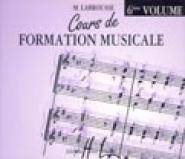 Labrousse Marguerite - Cours De Formation Musicale Vol.6 - Cd Seul