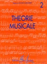 Jouve-ganvert Sophie - Théorie Musicale Vol.2