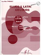 Thibault Jean-marc - Blues And Latin Colours + Cd - Guitare