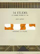 Pujol Maximo-diego - Etudes (14) Vol.2 - Guitare