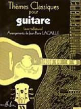 Lacaille J.p. - Themes Classiques - Guitare Avec Tablatures
