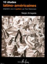 Arriagada Sergio - Etudes Latino-americaines (10) - Guitare
