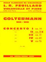 Goltermann Georg - Concerto N°2 Op.30 En Re Min. - Premier Mouvement - Violoncelle, Piano