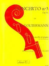 Goltermann Georg - Concerto N°3 Op.51 En Si Min. - Premier Mouvement - Violoncelle, Piano