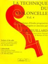 Feuillard Louis R. - Technique Du Violoncelle Vol.4